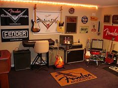 Pick your Picks holds your guitar picks without obscuring any     Fender Guitar room  would be nice for Jon s guitars