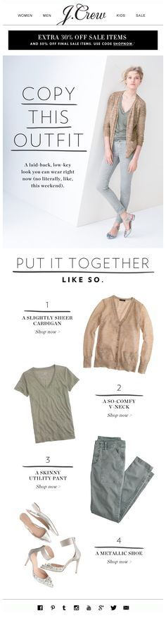 J.CREW : Outfitting