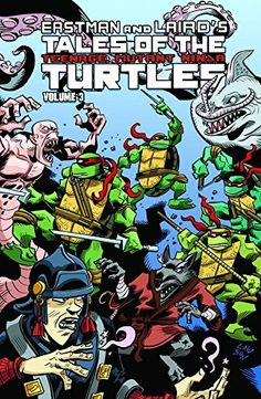 Tales Of The Teenage Mutant Ninja Turtles Volume 3 by Steve Murphy. Please click on the book jacket to check availability or place a hold @ Otis.