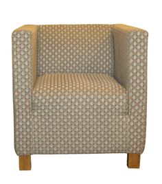 Homey Armchair Fabric Beige D.68 x W.75 x H.77 MH CH 06 Designed by Mona Hussein