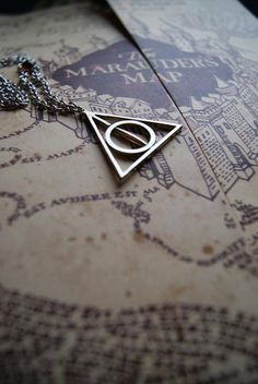Deathly Hallows and The Marauder's Map. HP