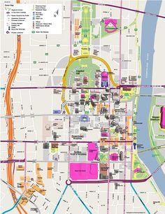 21 Best Nashville Map images   Map of nashville, Nashville map ...