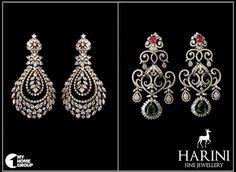 Pakistani Jewelry, Indian Jewelry, Jewellery Designs, Jewelry Patterns, Pearl And Diamond Necklace, Diamond Earrings, Big Earrings, Pearl Earrings, Royal Indian Wedding