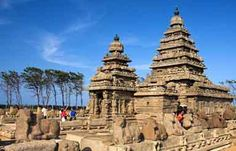 The temple city of Mahabalipuram, which is also known as Mamallapuram is an ancient city that was once the capital of the Pallava rulers. It is situated 60 km from Chennai on the Bay of Bengal coast in the south Indian state of Tamil Nadu.