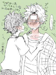 Mister hot-head has a fever!  KatsuDeku    Boku no Hero Academia, My Hero Academia #bnha #mha