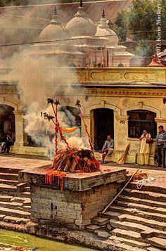 Pashupatinath, Kathmandu Crematory, Nepal