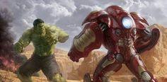 Hulk vs Iron Man Hulkbuster