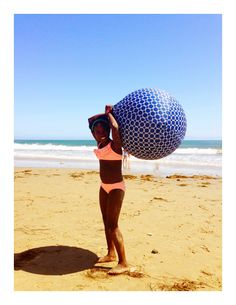 Can't wait for the beach! #summertime #beach #fun #exerciseball #yogaball #stabilityball #exerciseballcover