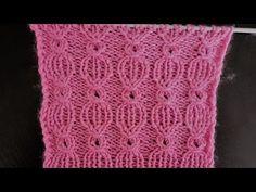 Bayram Şekeri Örgü Modeli - YouTube Types Of Knitting Stitches, Knitting Videos, Knitting Patterns, Crochet Patterns, Old Sweater, Lace Knitting, Hats For Women, Free Pattern, Knit Crochet