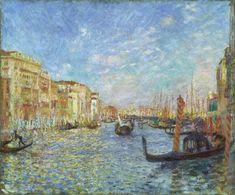 Pierre-Auguste Renoir, Grand Canal, Venice, 1881.