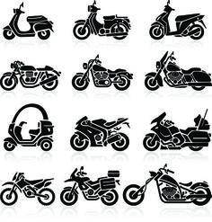 If you are a Motorcycle Lovers, check out this Motorcycle collection, you may li. Logo Harley Davidson, Harley Davidson Tattoos, Kawasaki Ninja H2r, Motocross, Motorbike Drawing, Bike India, Motorcycle Tattoos, Ride Out, Silhouette Images