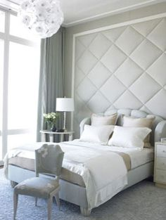 The grays and the whites in this room make it a neutral colored room.  Neutral