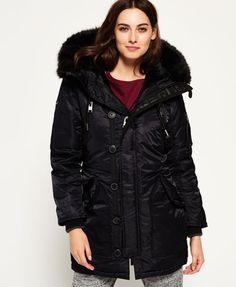 New Womens Superdry Sd-4 Parka Coat Black   122.00 End Date  Wednesday Sep 19f7c54e96