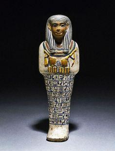 Shawabti of the Lady of the House – Sati Medium ca. 1390-1352 B.C.E.