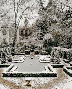 Winter garden in London