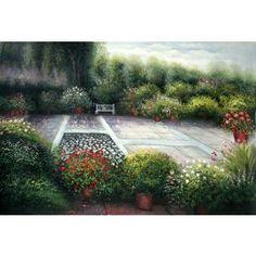 Real Handmade Landscape Oil painting Landscape Art, Landscape Paintings, Oil Paintings, Decoupage, Country Roads, Handmade, Hand Made, Landscape, Oil On Canvas