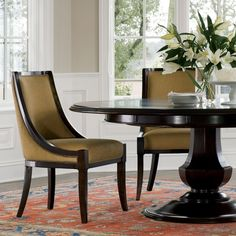Brownstone // Sienna Champagne Dining Chair