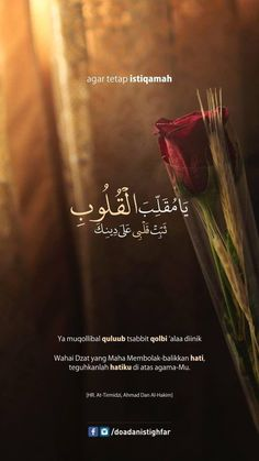 Ya Allah fix my heart on this deen💝. Quran Quotes Love, Quran Quotes Inspirational, Beautiful Islamic Quotes, Arabic Quotes, Ali Quotes, Hadith Quotes, Muslim Quotes, Qoutes, Religion Quotes