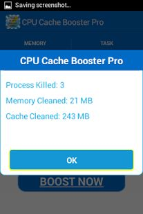 Android phones have a big problem of slowing down with use & If you wish to boost the speed of your phone or tablet, then look no further. Although the google play store is flooded with CPU boosters, Ram cleaners, System optimizers, and multiple system utilities, CPU Booster Pro with Advanced cache cleaner is the best Android Booster that exists.
