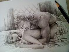 Romantic Scene with Senna. by aenaluck.deviantart.com on @deviantART