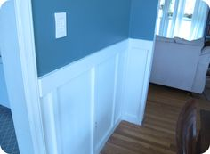 back {to} domestics: our dining room {& panel tutorial}