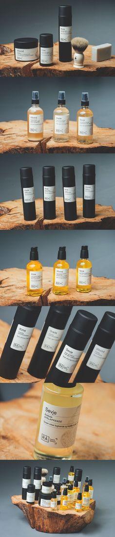 RA Organic Skincare. (More design inspiration at www.aldenchong.com)