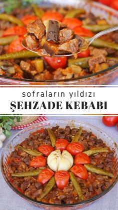 Turkish Recipes, Italian Recipes, Ethnic Recipes, Turkish Kitchen, Fish And Meat, Cooking Recipes, Healthy Recipes, Fresh Fruits And Vegetables, Pot Roast