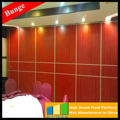 High Quality Movable Morden mobile dividing wall For Dubai Room
