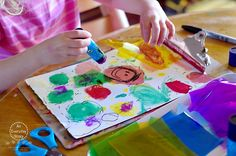 Extending Art with Kids - Offering Art Back To Them (An Everyday Story)