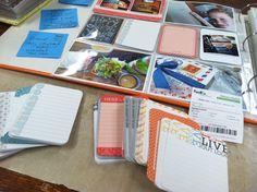 Mish Mash: Project Life Week 1 (January 1-January 08, 2012) + my weekly process