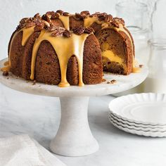 Our Favorite Bundt Cake Recipes   There's no denying that the humble bundt pan is among our favorite pans to bake with. From apple cake to hummingbird cake to chocolate cake, it's safe to say that sometimes it's better in a bundt. Whether you're hosting a special occasion, attending a potluck, or simply craving something sweet, there's no better time to break out the bundt and get baking.