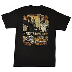Harley-Davidson NYC Dealership Exclusive Street T-Shirt Black Small