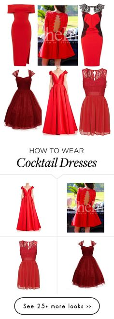 """Untitled #439"" by cesy-andreia on Polyvore featuring Lipsy, Unique Vintage, Jovani and Elise Ryan"