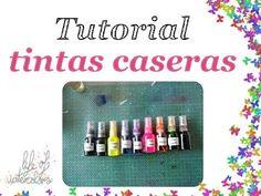 Tutorial: Tintas en spray caseras (homemade spray inks)