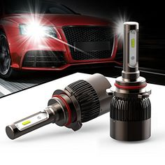 HODA lighting Extremely Bright Automobile LED Headlight bulbs H11 - 7200Lm 6K Cool White (Pack of 2) - 2 Yr Warranty. For product info go to:  https://www.caraccessoriesonlinemarket.com/hoda-lighting-extremely-bright-automobile-led-headlight-bulbs-h11-7200lm-6k-cool-white-pack-of-2-2-yr-warranty/