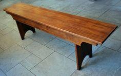 5 Board Bench from ReClaimed Heart Pine