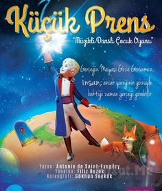 """""""KÜÇÜK PRENS"""" Adlı Müzikli Çocuk Tiyatro Oyunu! Tiyatro Bozok tarafından sahneye taşınan """"Küçük Prens"""" çocuklarla buluşmaya devam ediyor..."""