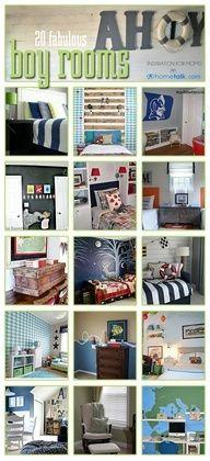 20 Must-See Boy Bedrooms