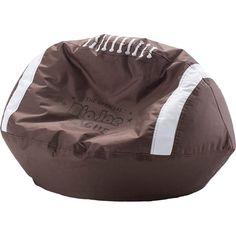 Comfort Research Big Joe Sport Ball Bean Bag Chair - Football