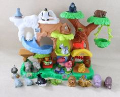 Fisher-Price-Little-People-Zoo-Talkers-ANIMAL-SOUNDS-21-Animals-Zoo-Keeper