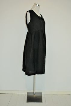 FLAX Designs  Linen  Modernist   Dress S /& M  /&  L NWT  2018 NEUTRAL  MELON