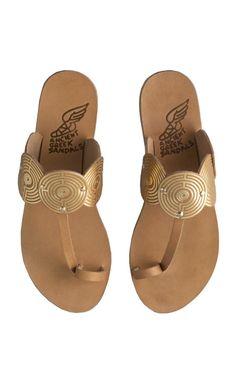 Ancient Greek sandals $255