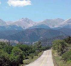 Highway of Legends is a byway located in Colorado, USA, going through the Pike & San Isabel National Forest, with a total length of 82.0 mi (132.0 km).