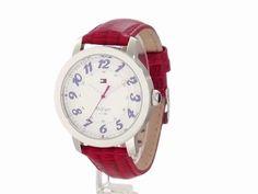 Tommy Hilfiger Women's 1781219 Classic Analog Enamel Bezel Watch $63.36