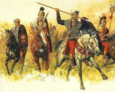Roman auxiliary cavalry. By Peter Connolly.