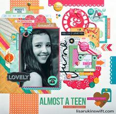 Almost a Teen *Echo Park Capture Life* - Scrapbook.com