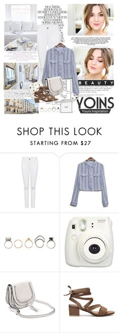 """""""YOINS Style 4/10"""" by mars ❤ liked on Polyvore featuring Elle, Iosselliani and Fujifilm"""