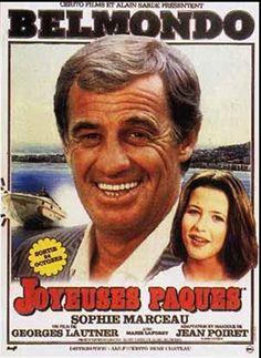 affiche film jean-paul belmondo - joyeuses paques
