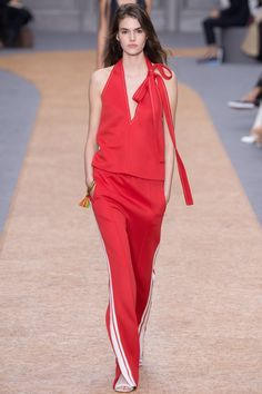 Chloé Spring 2016 Ready-to-Wear Fashion Show - Vanessa Moody (Women)