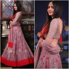"""Adah Sharma Outfit - @divyareddyofficial  Jewelry - @kirtilalsonline  Styled by -…"""""""